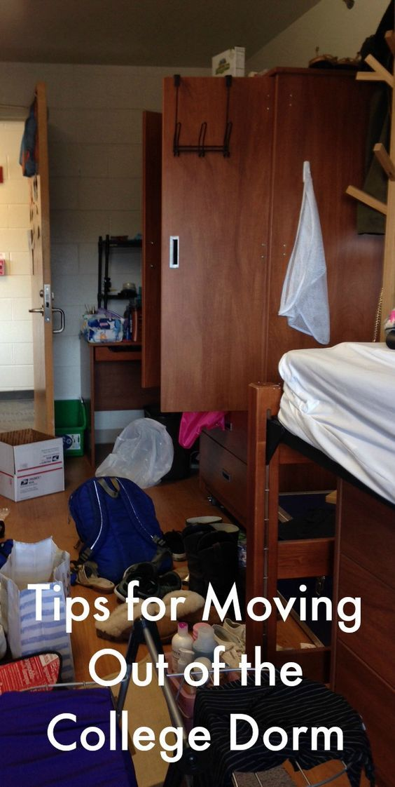 Moving Out Of The College Dorm, For The Summer Or Forever Part 50