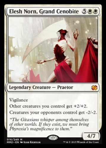 Elesh Norn, Grand Cenobite mtg Magic the Gathering Modern Masters 2015 white mythic rare card
