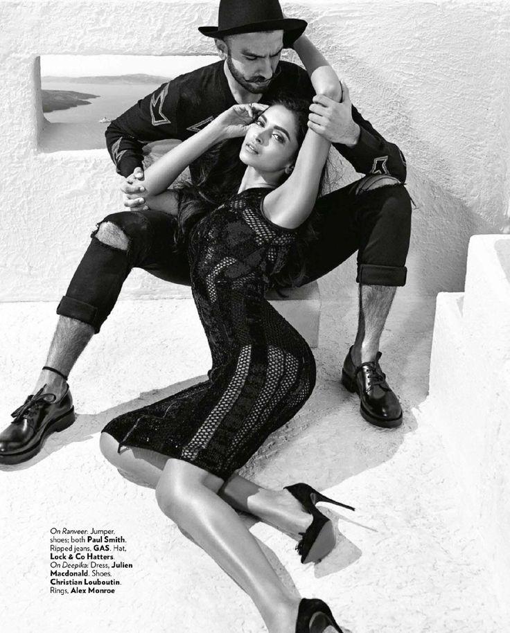 Vogue India October 2015 – Deepika Padukone & Ranveer Singh by Tarun Vishwa