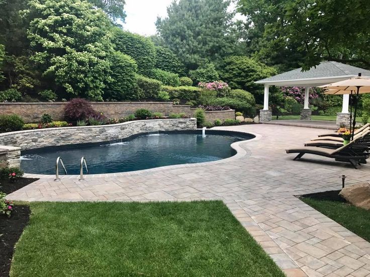 Best Cambridge Patios Pools Images On Pinterest - Long island pool and patio