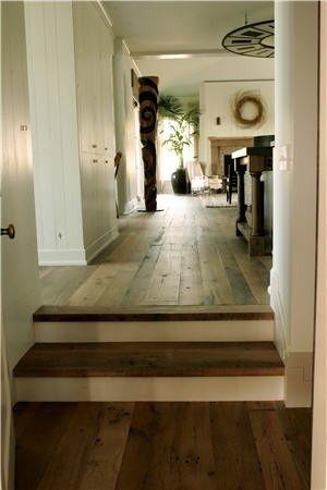 LOVE these barn floors