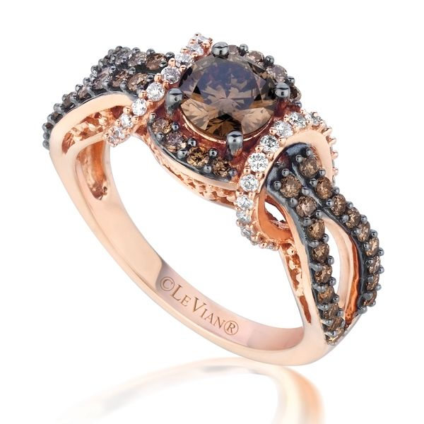 I WANT this !!!!!  ❦ Le Vian Chocolate Diamond Ring - chocolate and diamond in the same sentence!!