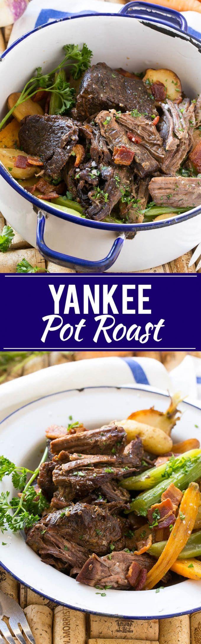 Yankee Pot Roast Recipe | Easy Yankee Pot Roast | Best Yankee Pot Roast | Easy Pot Roast | Best Pot Roast