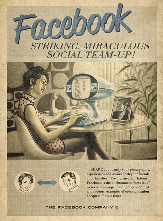"""FACEBOOK - Striking, Miraculous Social Team-Up! Share abundantly your photographs, experiences and stories with friends and families. For leisura or labour, Facebook is the enchantment """"next look"""" in social tem-ups. Eloquent economical and modern examples of communication adequate for our times."""