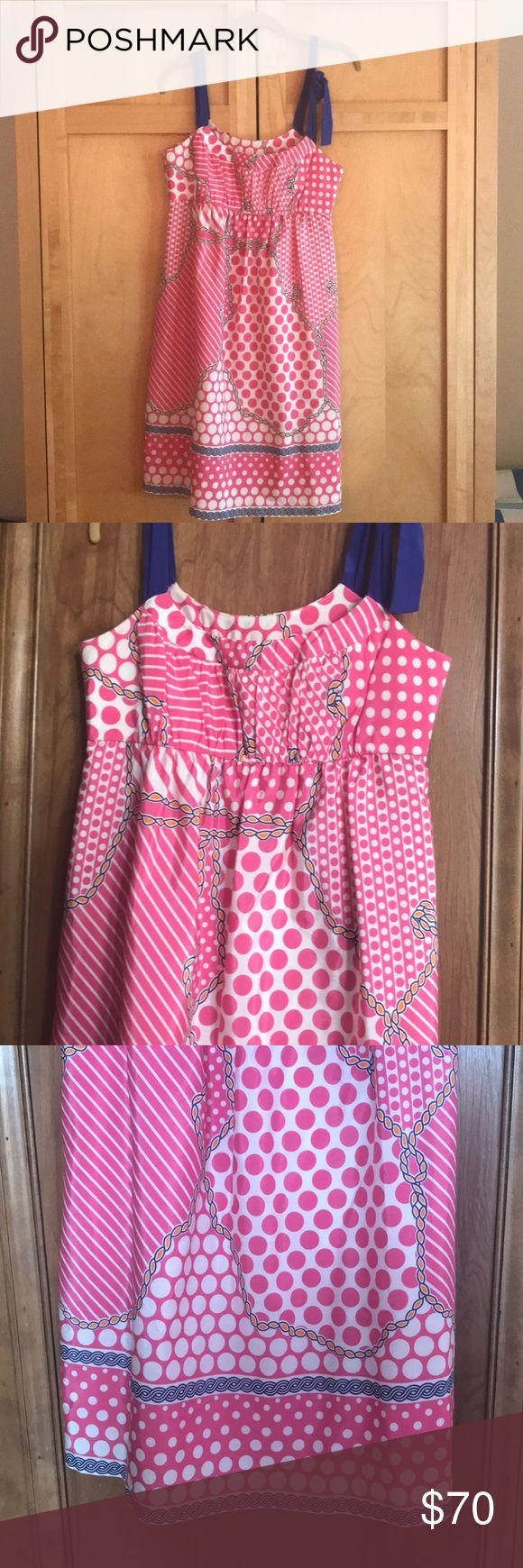 Tibi Size 4 summer dress Perfectly pink and preppy dress! Great for a summer garden party or graduation. Tibi Dresses Mini