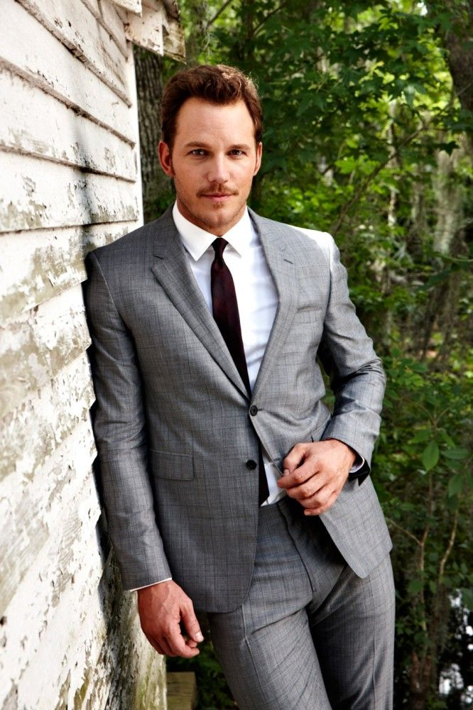 "Chris Pratt. Andy Dwyer in ""Parks and Recreation"", Peter Quill in ""Guardians of the Galaxy"", Owen Grady in ""Jurassic World""."