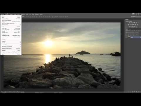 Photoshop CS6 desde Cero 2- Las Barras del Programa - YouTube