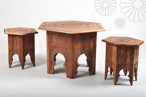 "Traditional bosnian cofee table ""peshkun"". Want it!"