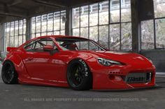 Rocket Bunny Scion FR-S 2013- Full Rocket Bunny 86/FRS/BRZ Wide-Body Aero Kit Ver.2