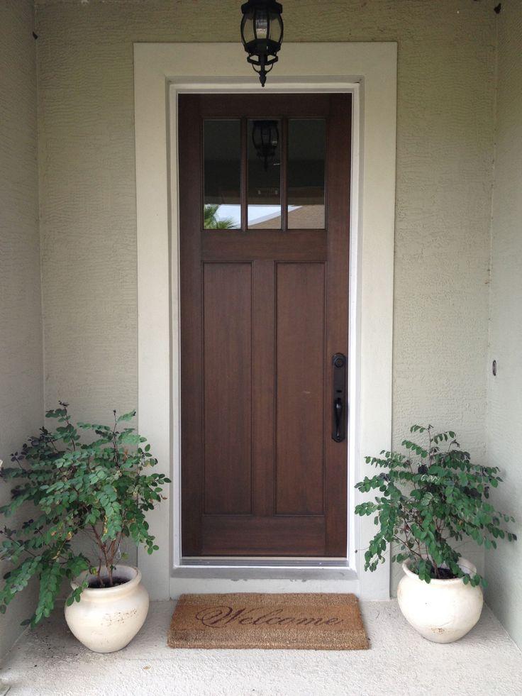 Best 25+ Craftsman style front doors ideas on Pinterest ...