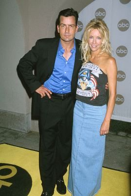 Heather Locklear and Charlie Sheen