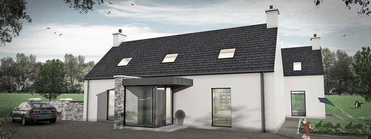 exteriors of contemporary irish homes - Google Search