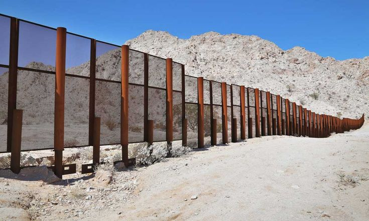 what is the mexico border fence made of | mexico-border