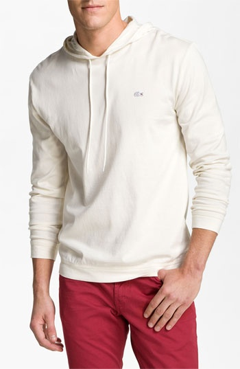 Lacoste Long Sleeve Hoodie available at #Nordstrom