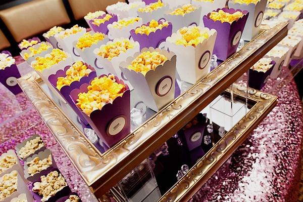 Wedding Popcorn station: Brit Bertino, Event Excellence Www.britbertino.com