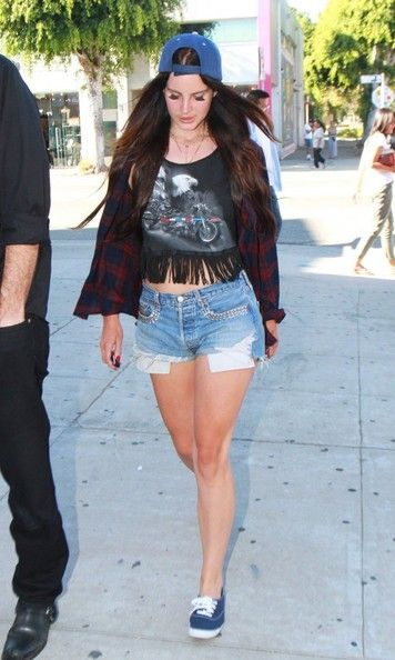 Lana Del Rey Photos: Lana Del Rey Gets A Ticket While Out In WeHo
