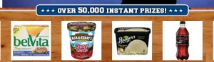 """For all of you who shop at Kroger or a Kroger affiliated store, they have a brand new instant win game you can play! Just head on over here, select your store, then login or register to play the """"March To Savings""""sweepstakes. There are over 50,000 instant win prizes, so the odds of winning are [...]"""
