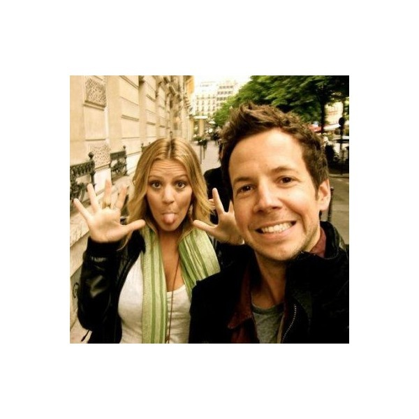 Pierre Bouvier and Lachelle Farrar Picture - Photo of Pierre Bouvier... ❤ liked on Polyvore