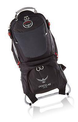 10fda7de28a Osprey Packs Poco AG Plus Child Carrier Black
