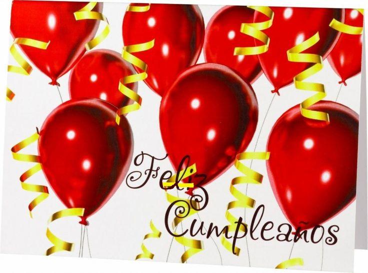 Happy Birthday Spanish 14 Happy birthday gifts, Free