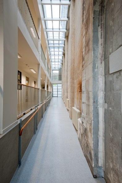 Backstage - Oamaru Opera House, Williams Ross Architects