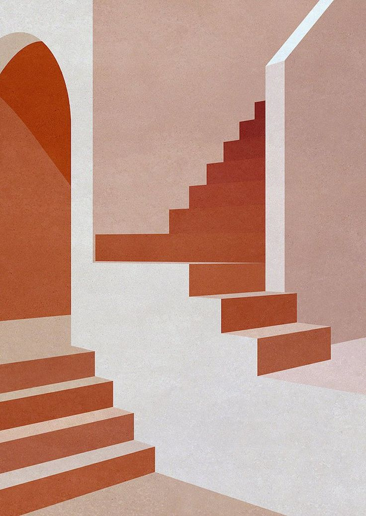 Barragan-inspired Illustrations by Charlotte Taylor