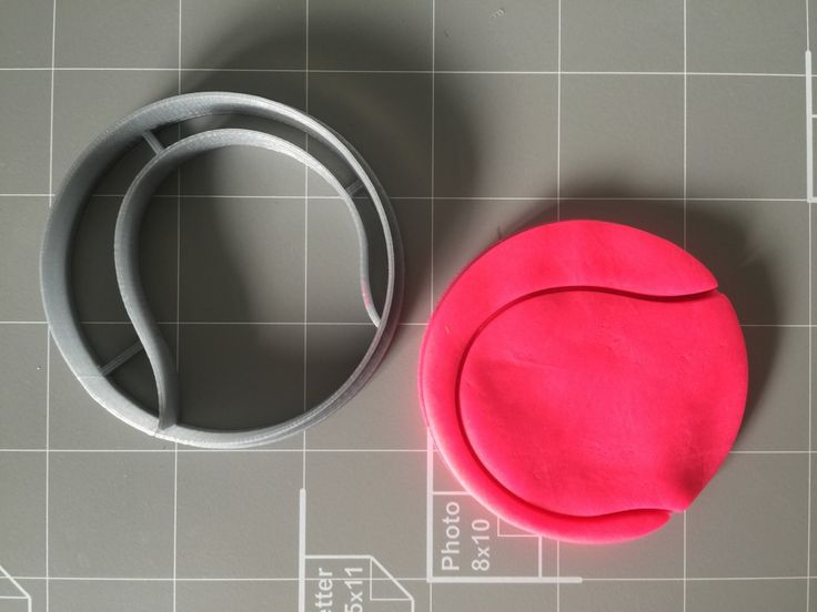 If you have a custom shape or logos in mind please contact us for your unique custom orders. This listing is for Tennis Ball Cookie Cutter , Measurements are approximately as shown 2.5x2.5 inches. Gre