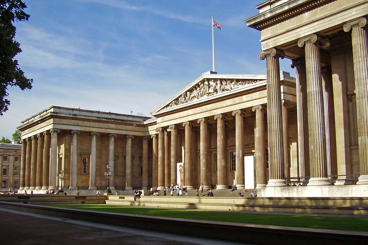 Architecture - Chapter 4 - English Regency, British Greek Revival - British Museum - London, England; Sir Robert Smirke