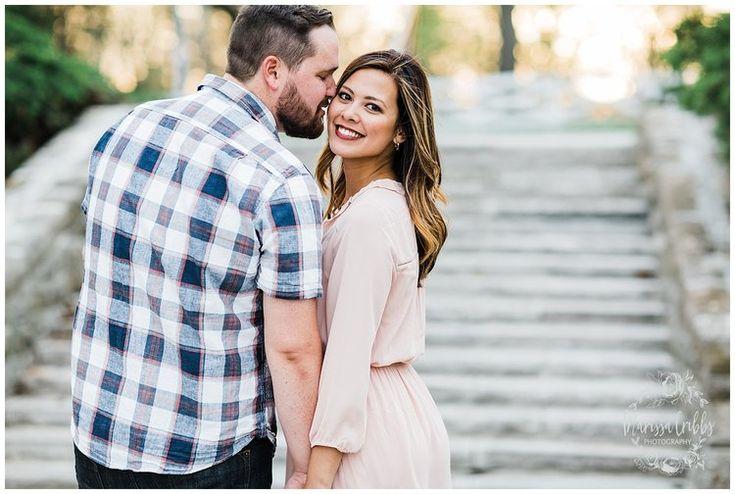 Leah & Michael Engagement | Loose Park Engagement Photos | KC Photographers | Marissa Cribbs Photography | KC Wedding Photographers_0815.jpg