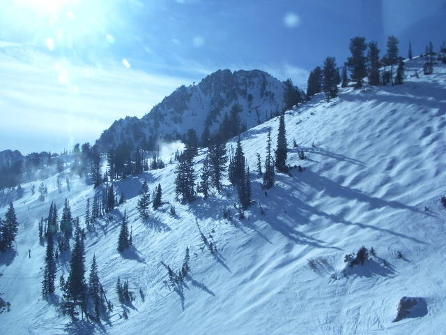 Powder Mountain, Ogden, Utah...where I learned to snowboard!