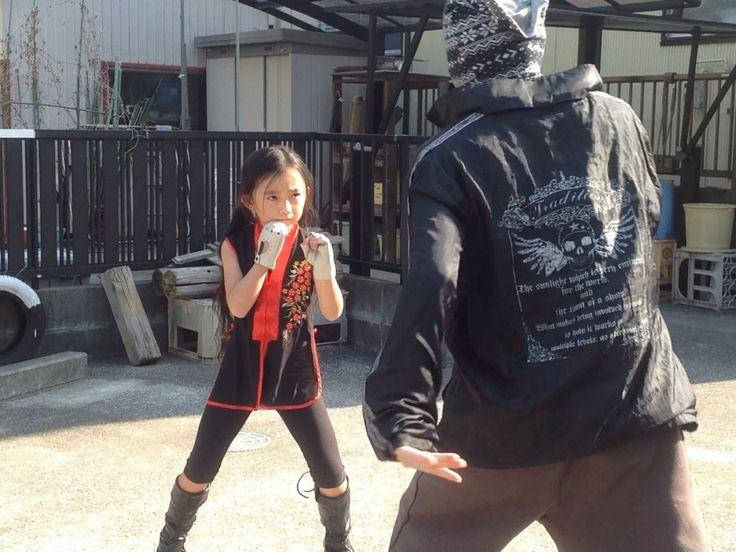 【 こころ - Kokoro 】アクション練習毎日頑張ってます! カンフー (もどき) とボクシング (もどき) が混ざるのなんとかならないかな〜 ヽ(´o`;