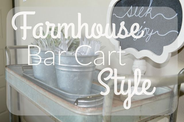 Farmhouse Bar Cart   Style