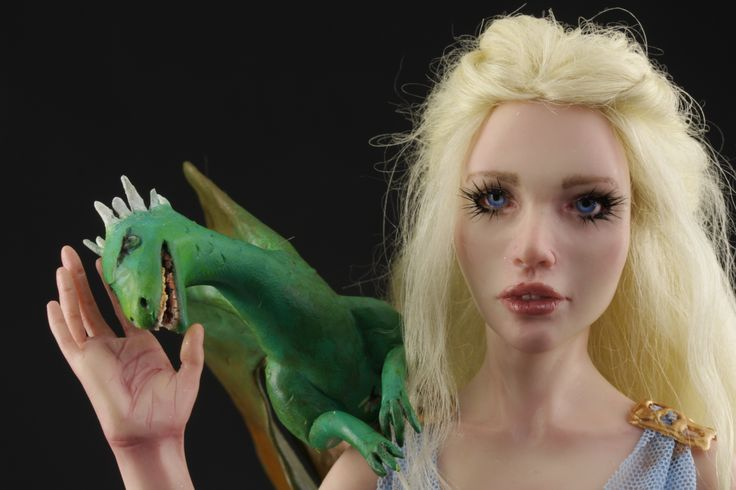 Daenerys - Mother of Dragons - Ooak Doll BY Elettra Land