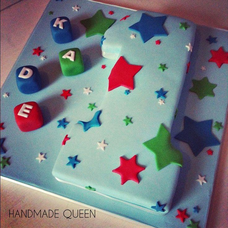 Boys 1st Birthday Cake #number #one 1