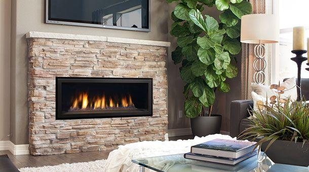 Regency Horizon HZ40E Gas Fireplace - Contemporary & Modern Gas Fireplaces - Regency Fireplace Products