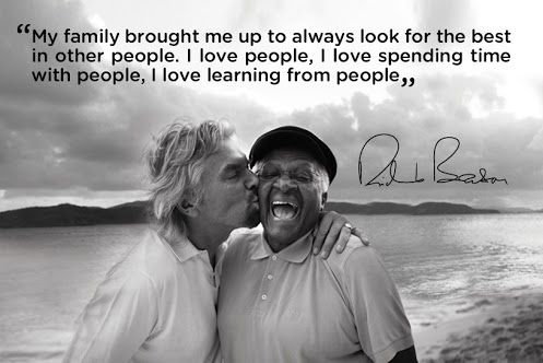 Richard Branson is my CE(her)O because he truly loves people and sees each person he meets as a massive well of potential.