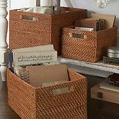 Natural Seagrass Basket | The Holding Company - The Holding Company