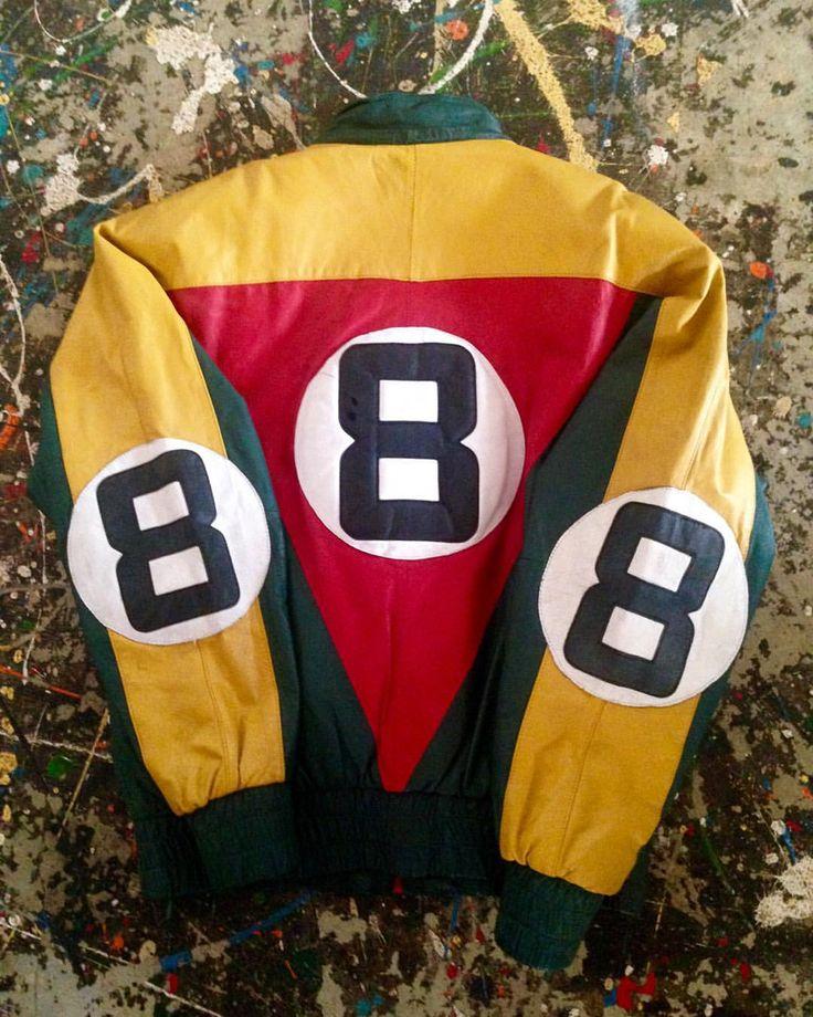 新入荷 Vintage eight ball bomber leather jacket . . 8ボールのレザージャケットです。当時のHIP HOPカルチャーらしい派手なデザインですねー。 何色かカラーがありますが、ラスタカラーもカッコ良いですね。 . XLサイズ 12,390円 . #eightball #bomberjacket #leatherjacket #DANCER #HIPHOP #古着屋Chum #熊谷 #ヒップホップ #埼玉 #dj #streetfashion #rapper #blackculture #thuglife #90sfashion #90shiphop #dance #rap #djlife #8balljacket #8ball #レザージャケット #ラスタ #rasta #raggae #レゲエ #oldschoolhiphop #furugi #vintageshop #usedclothing