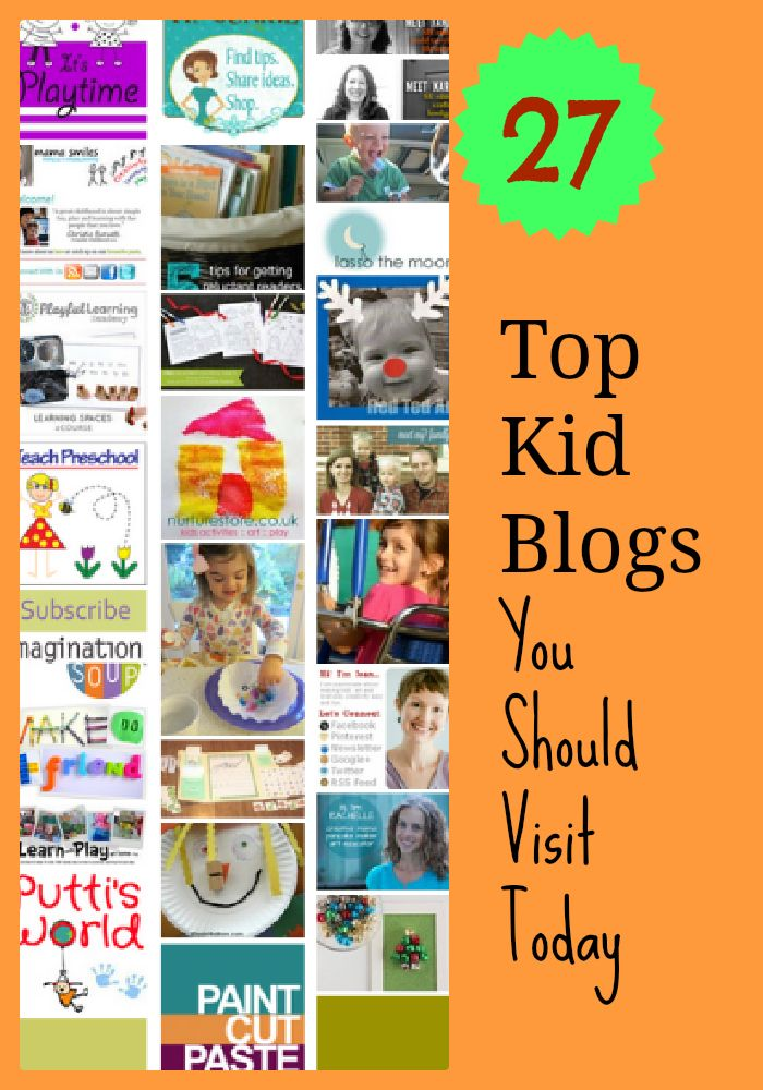 top kid blogs you should visit today