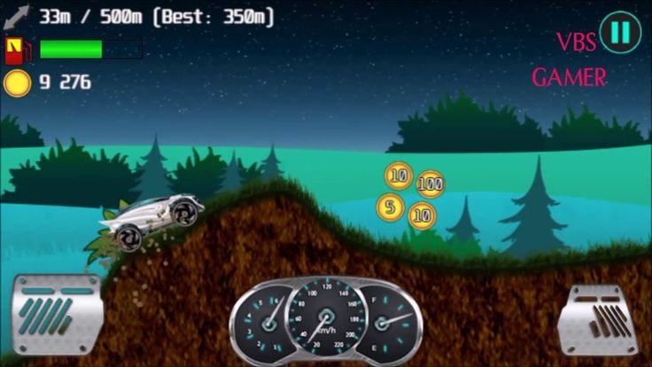 Alien Planet Hill Racing Babies Android Gameplay Night 2