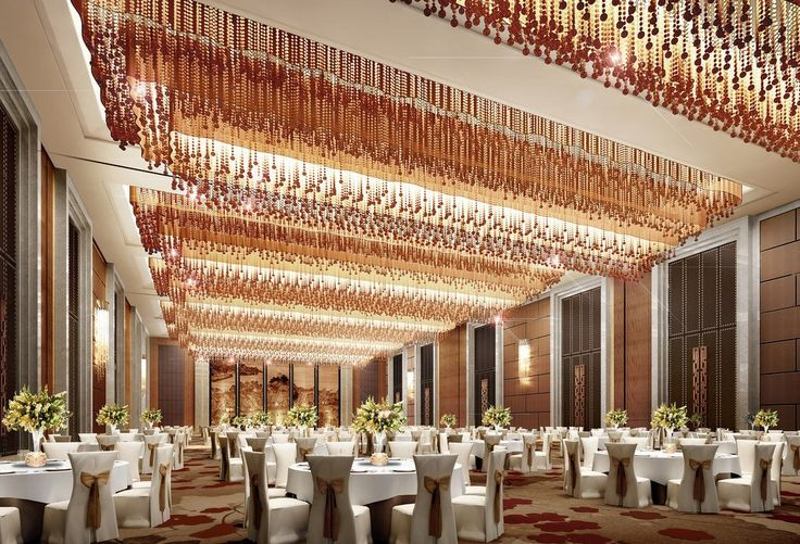 Wedding Banquet Halls | luxury lighting design 3d rendering of banquet hall  chinese banquet | Shops | Pinterest | 3d rendering, Lighting design and  Banquet