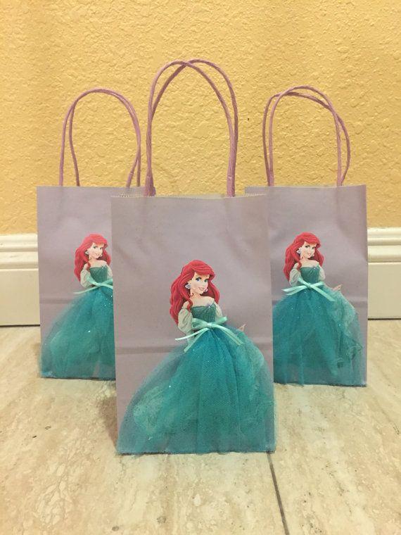 Little Mermaid Favor Bags-Ariel Goody by FantastikCreations