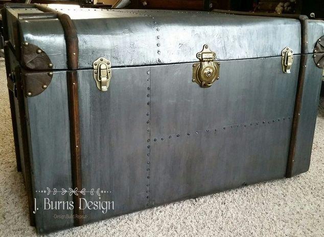 build you own restoration hardware style steamer trunk