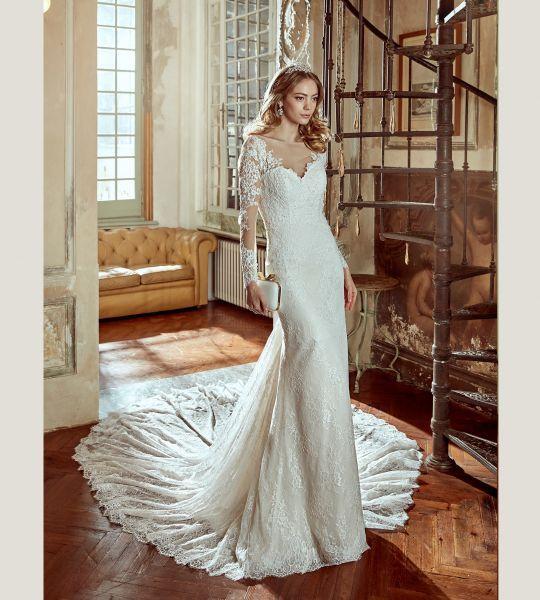 Vestidos de novia corte sirena 2017: 35 propuestas que te enamorarán Image: 23