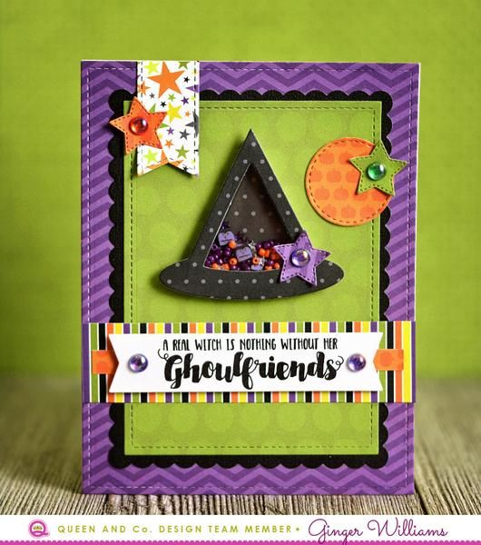 """Meet ourmost """"frightfully fun"""" kit yet, Halloween Hoopla! When it comes to Halloween crafting, this kit has it all!  Each Kit Includes: 1 qty 6x6 paper pad 3"""