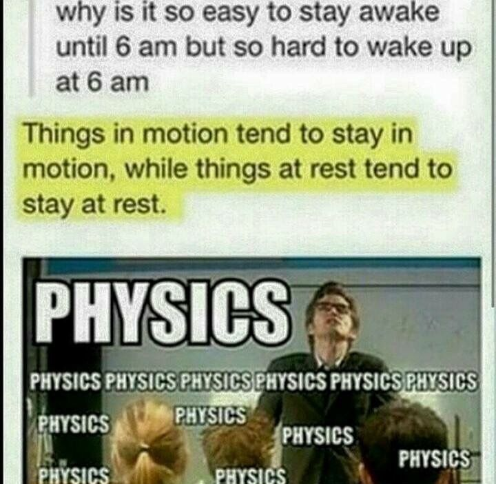 I finally appreciate what I learned in physics...