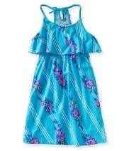 Kids' Hibiscus Stripe Dress PS From Aéropostale