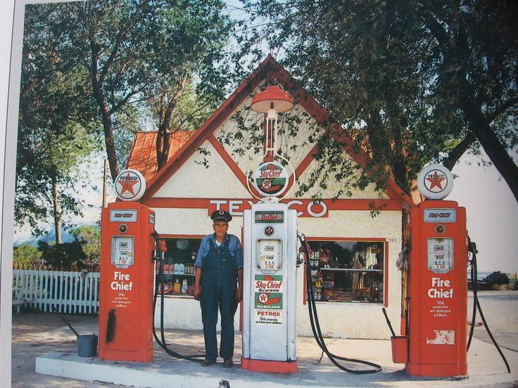 Old Texaco Gas station....Full Service :)