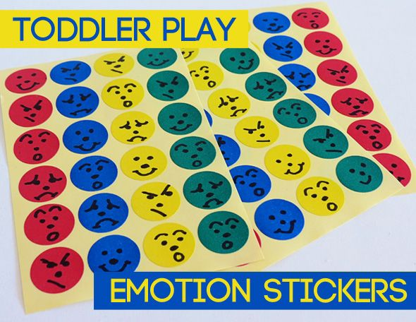 Activities for Toddlers: Learning about Emotions