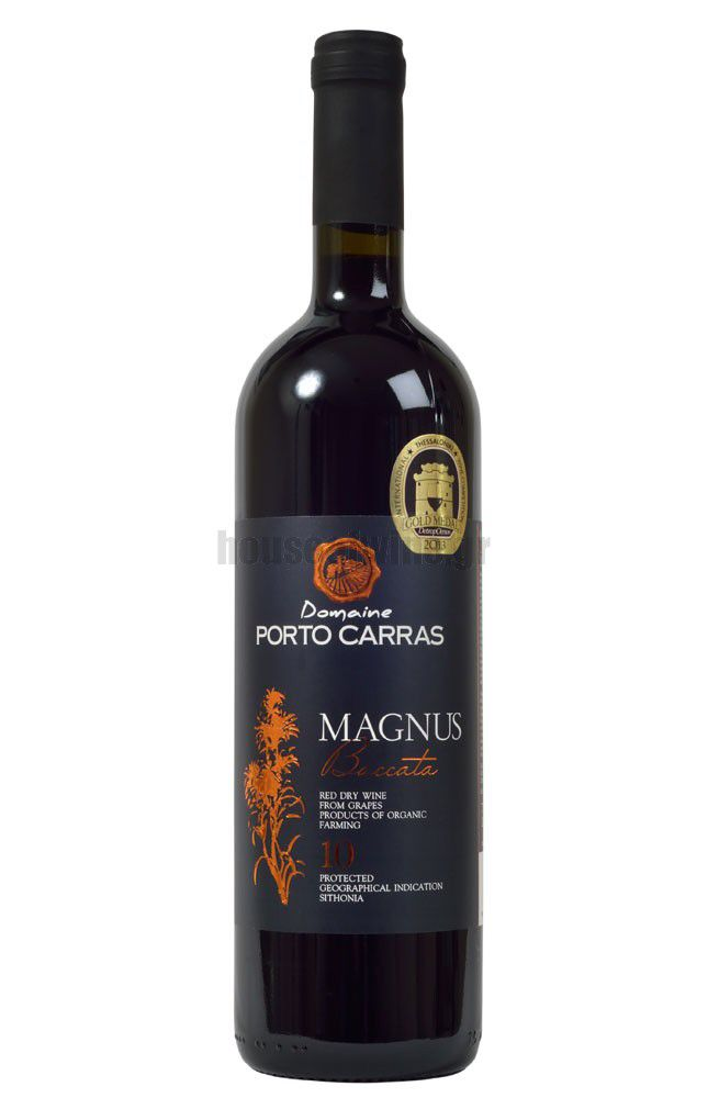 Tomorrow's wine in House of. Wine Thursday Offer: The unique blend of Syrah & Sauv Blanc, the Porto Carras Magnus Beccata 2011. Don't miss it!